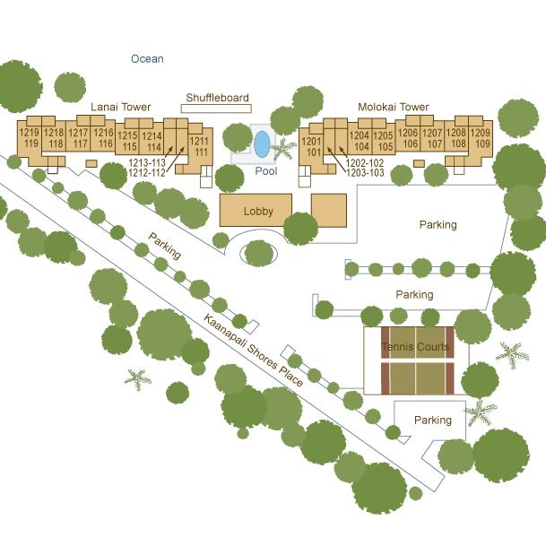 The Mahana At Kaanapali Floor Plans Kaanapali Maui