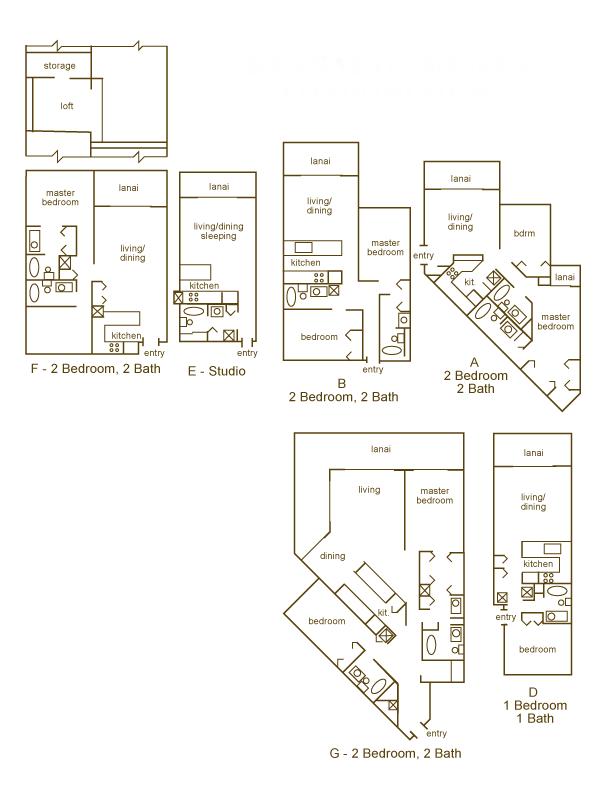 Kaanapali Shores Floor Plans Kaanapali Maui