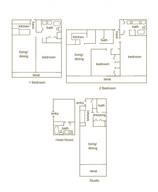 Maui Kaanapali Villas Floor Plans Kaanapali Maui